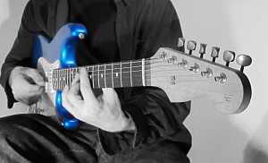 Playing the blue Strat