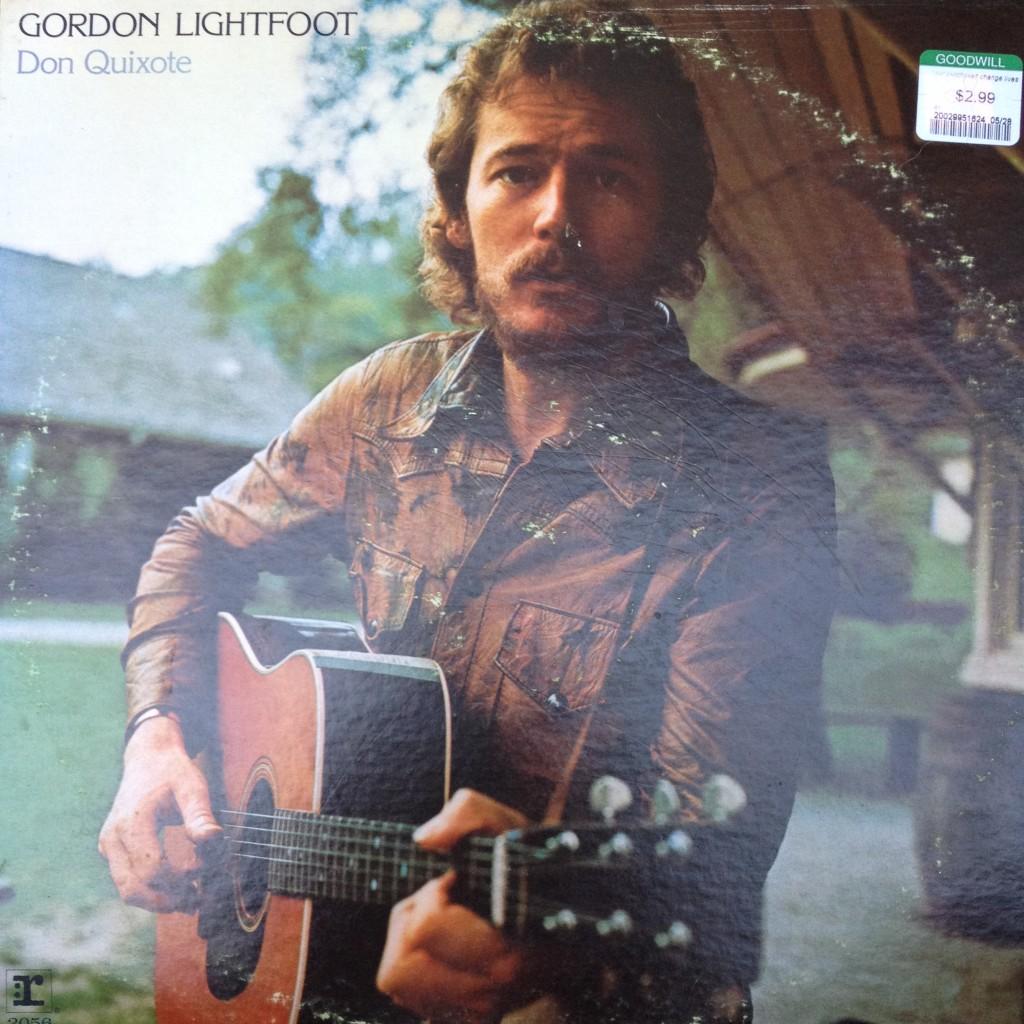 Gordon Lightfoot Don Quixote Album Sleeve